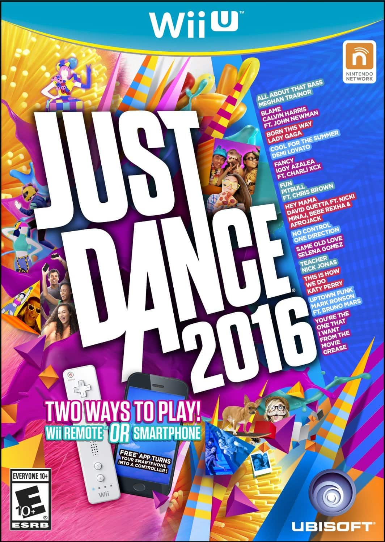 Just Dance 2016 (Nintendo Wii U) $10.39 via Amazon