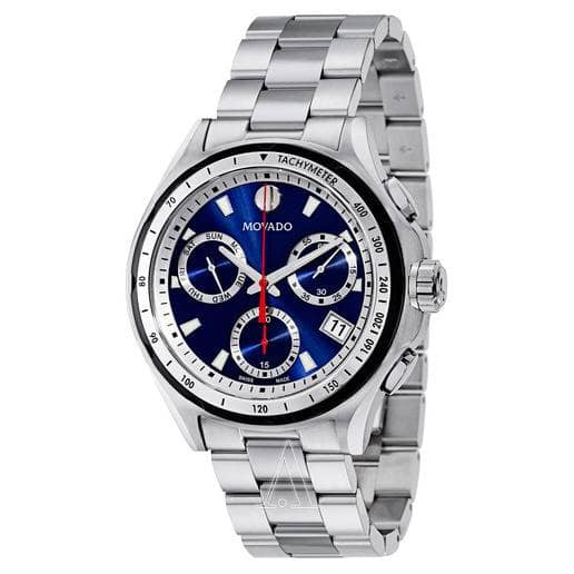 Movado 800 Series Men's Stainless Steel Blue Dial Watch  $319 + Free Shipping
