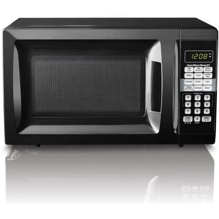 Hamilton Beach 0.7 cu ft Microwave Oven (Black, Red or White) $29.88 + Free Store Pickup @ Walmart