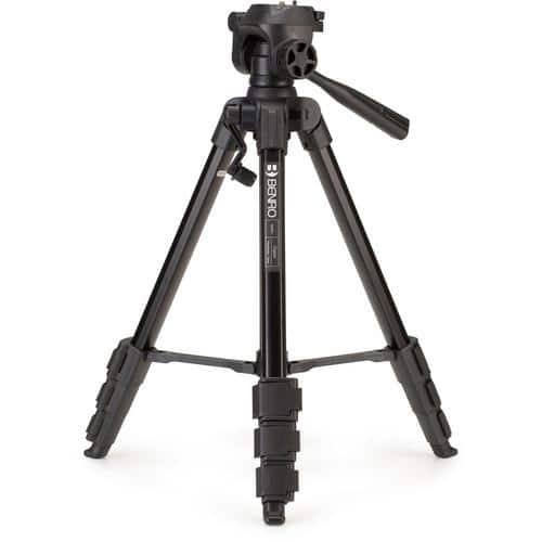"Benro T880EX 57"" Digital Aluminum Tripod with 3-Way Pan/Tilt Head $19 + Free Shipping"