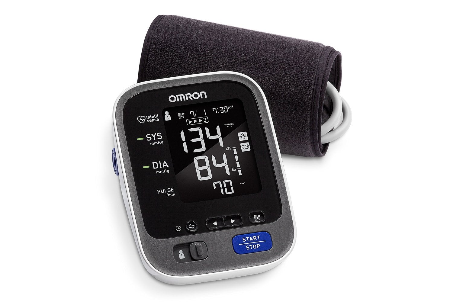 Omron 10 Series Wireless/Bluetooth Upper-Arm Blood Pressure Monitor $47.50 via Amazon