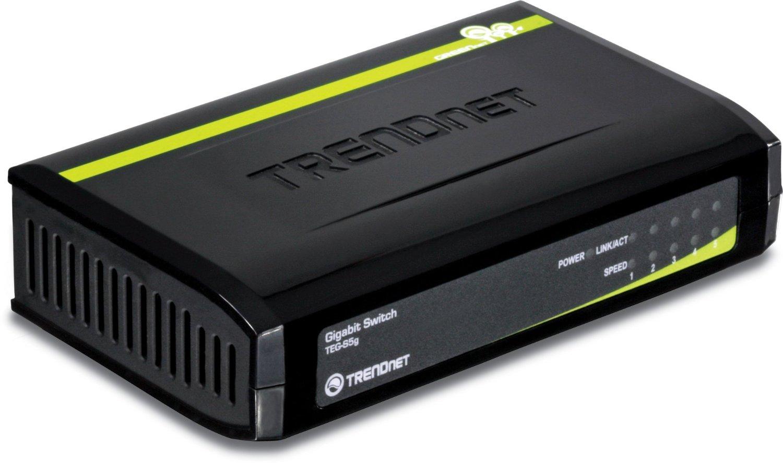 5-Port TRENDnet GREENnet Unmanged Gigabit Switch (TEG-S5g) for $9.99 + Free Shipping @ Newegg.com