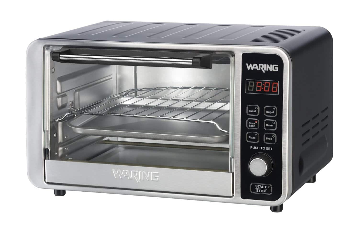 Waring Pro TC0650 Digital Convection Toaster/Pizza Oven (Black) $49.99 + Free Shipping