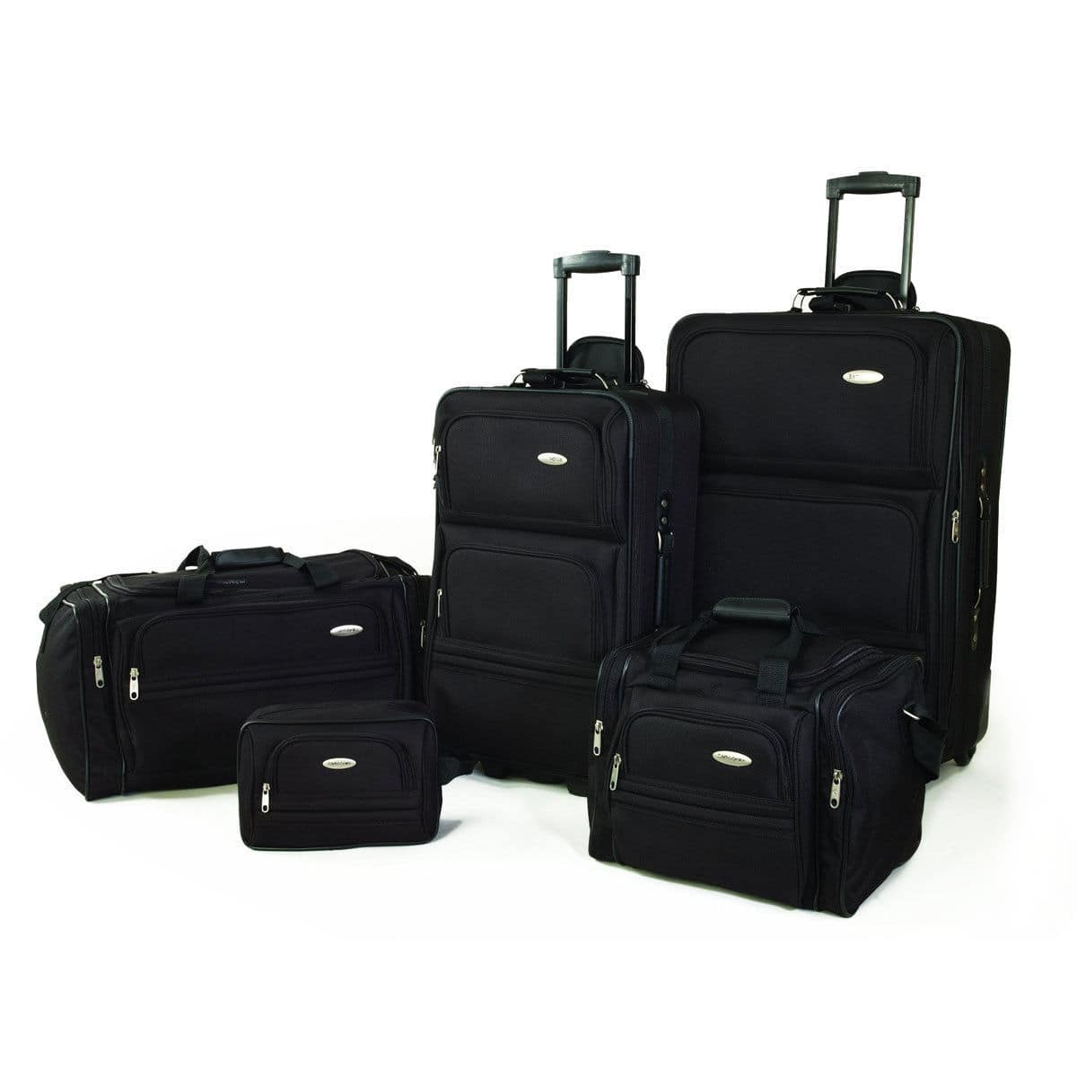 Samsonite 5-Piece Nested Luggage Set (black, navy or red)  $85 + Free Shipping
