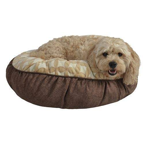 """Kohl's Card-holders: Pet Spaces 24"""" Flannel Round Pet Bed  $9.80 + Free Shipping"""