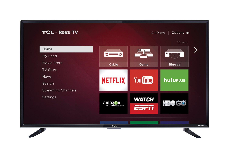 "50"" TCL 50FS3800 1080p 120Hz Roku Smart LED HDTV  $198.50 + Free Shipping"