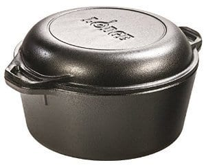 Update: Available again Lodge 5-Quart Double Dutch Oven w/ Skillet Cover $31.49 plus free shipping for Prime is Back Again
