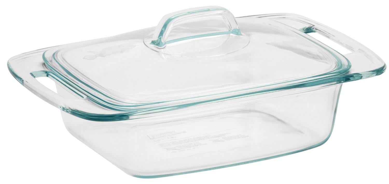 Pyrex Easy Grab 2-Quart Baking Dish with Glass Lid $7.99 + ship @kmart.com