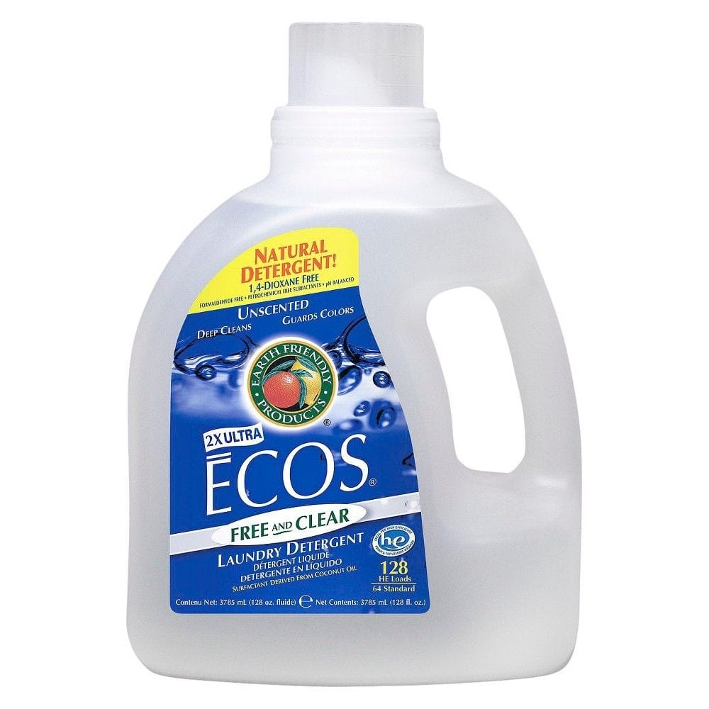 128oz Ecos Laundry Detergent (Free & Clear)  $8 + Free Store Pick-Up