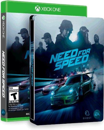 Need for Speed w/ Amazon Exclusive Steelbook (Xbox One) $16.82 via Amazon