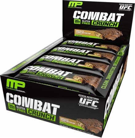 36-Count MusclePharm Combat Crunch Protein Bars (various flavors)  $56.65