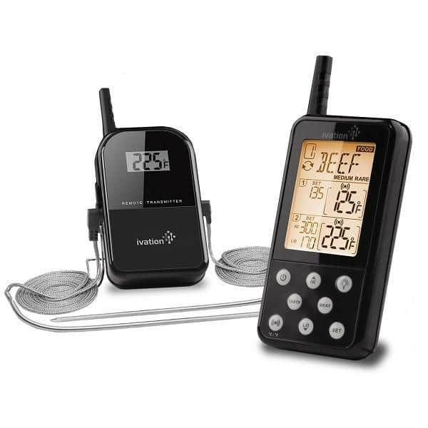 Ivation Extended Range Wireless Cooking Thermometer  $38 + Free Shipping