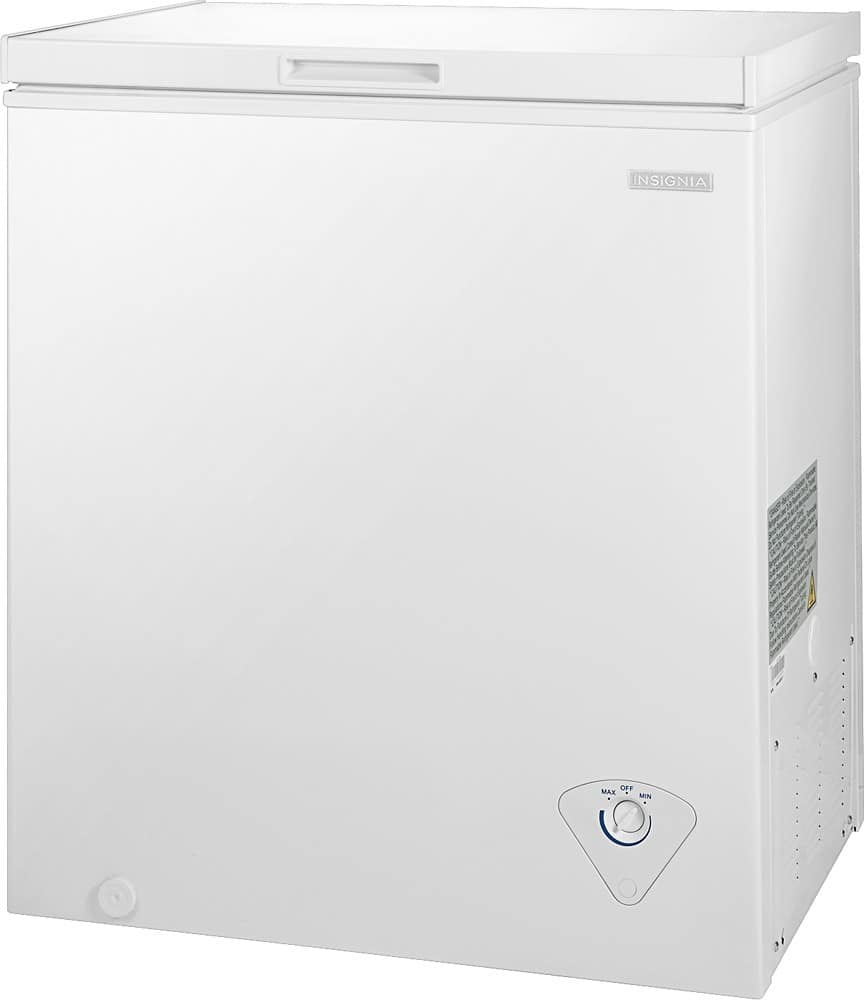 Insignia - 5.0 Cu. Ft. Chest Freezer - Best Buy $119.99 (or $109.99 w/ VISA Checkout)
