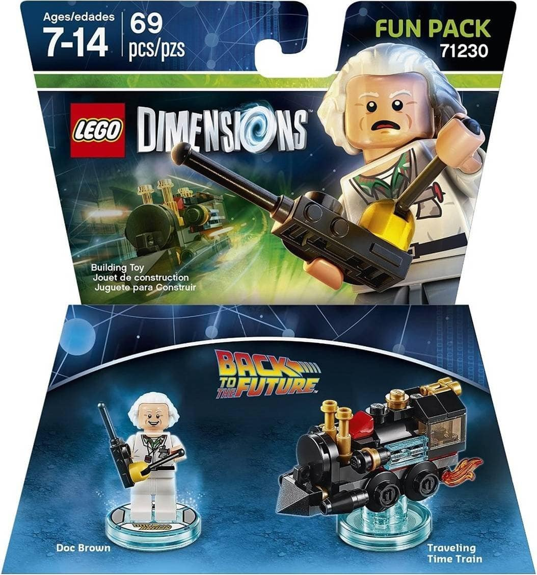 Prime Members: LEGO Dimensions Fun Packs: Back to the Future Doc Brown  $3 & More