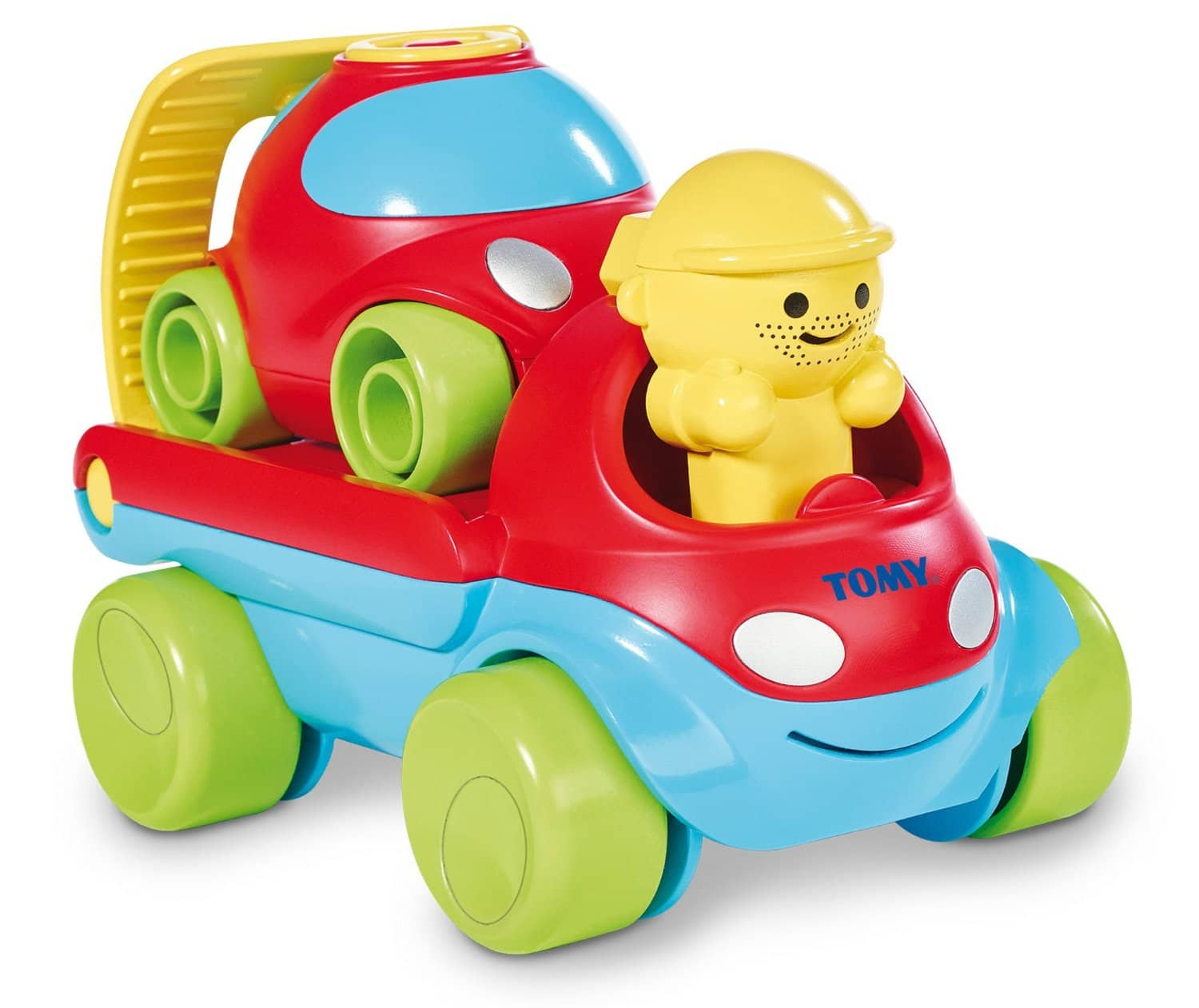 TOMY Toys: 3-in-1 Road Rescue Fix & Load Tow Truck  $8.25 & More
