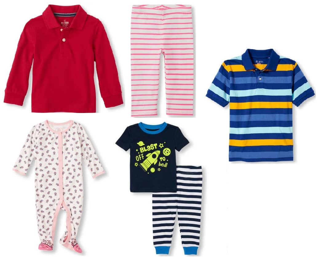 The Children's Place: All Clearance marked down 80% + FS no minimum