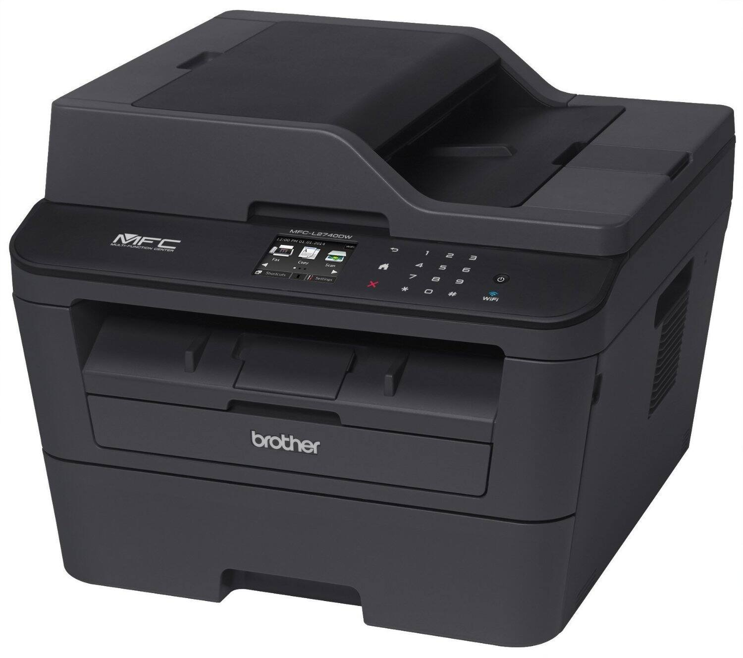Brother MFCL2740DW Wireless Monochrome All-In-One Laser Printer, Scanner, Copier, Fax $149.99 + Free Shipping