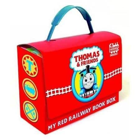 Thomas & Friends: My Red Railway Book Box (Set of 4 Books)  $7