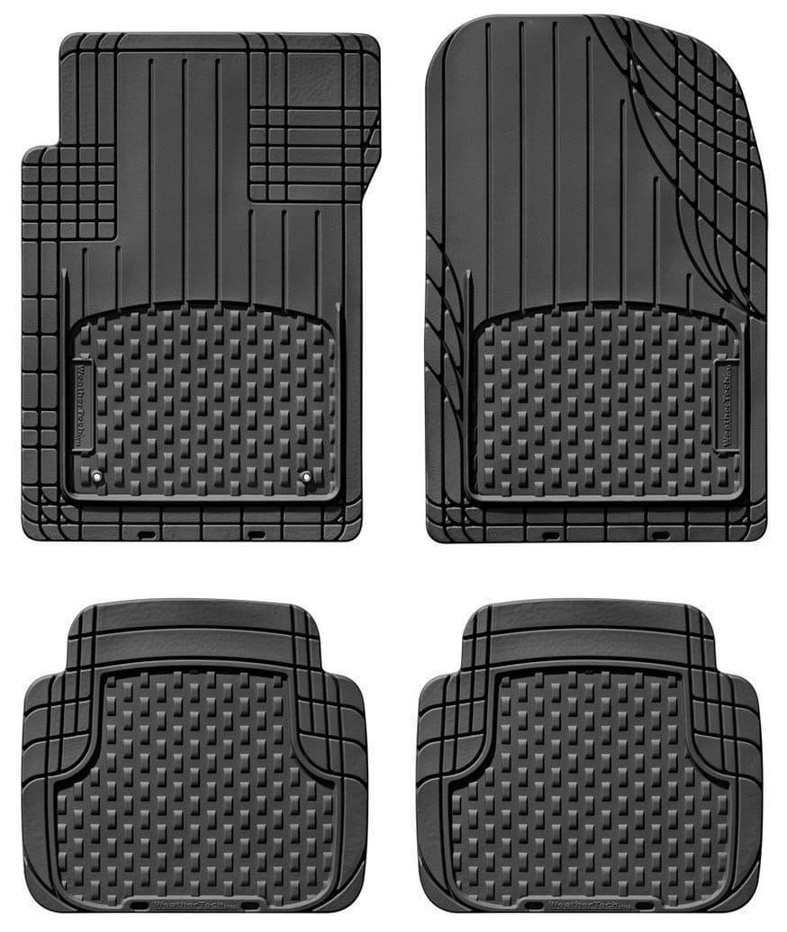 Set of 4 WeatherTech All-Vehicle Mats (Front & Rear)  $29.70 + Free Store Pick-Up