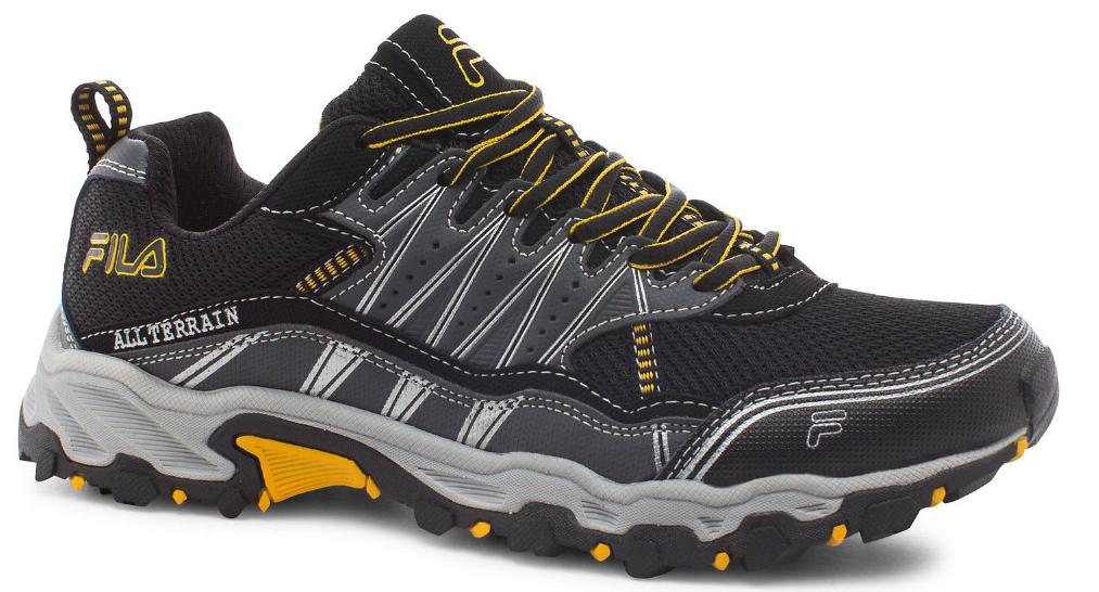 FILA Men's At Tractile Trail Shoe $25 Shipped