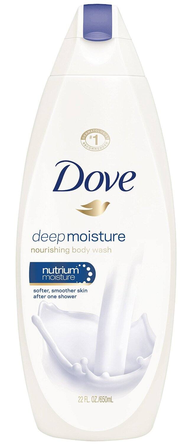 4-Pack of 22oz. Dove Body Wash (Deep Moisture)  $3.65 + Free Shipping