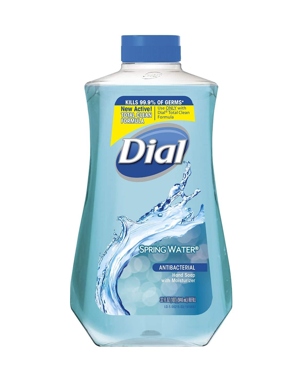 32oz Dial Complete Antibacterial Hand Wash Refill (Spring Water)  $3 + Free Shipping