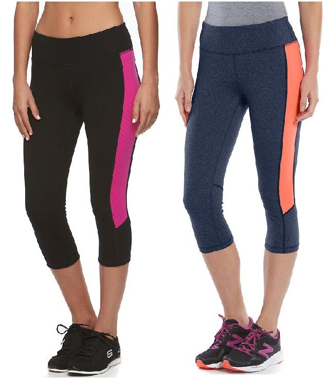 Kohls Cardholders: Tek Gear Shapewear Women's Capri Workout Leggings (X-Small)  $10 + Free Shipping