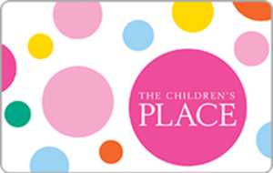 $100 The Children's Place eGift Card $80