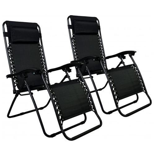 2-Pack Zero Gravity Lounge Patio Chairs $49.99 + free shipping