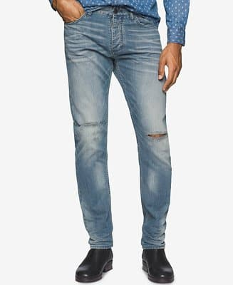 Men's Calvin Klein Jeans $16, Women's G.H. Bass & Co. Skinny Jeans  $6 + $3 S&H (each pair)