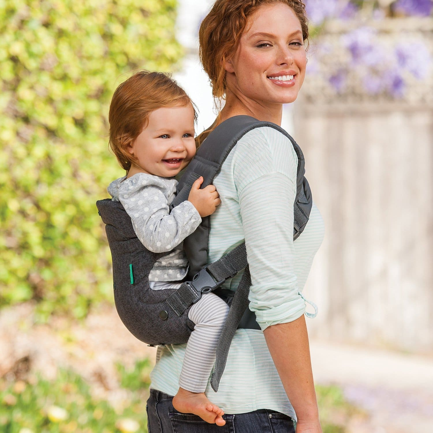 Infantino Flip Advanced 4-in-1 Convertible Carrier, Light Grey $17.88 @Amazon +FS With prime