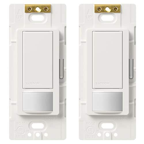 2-Pack Lutron Maestro Single Pole Occupancy Motion-Sensing Switch  $24