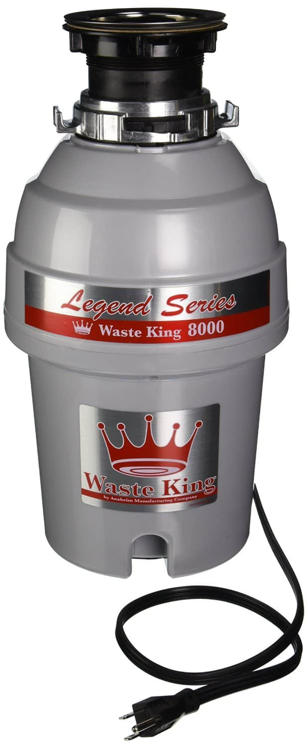 Waste King L-8000 Legend Series Continuous-Feed Garbage Disposal $87 + Free Shipping via Amazon