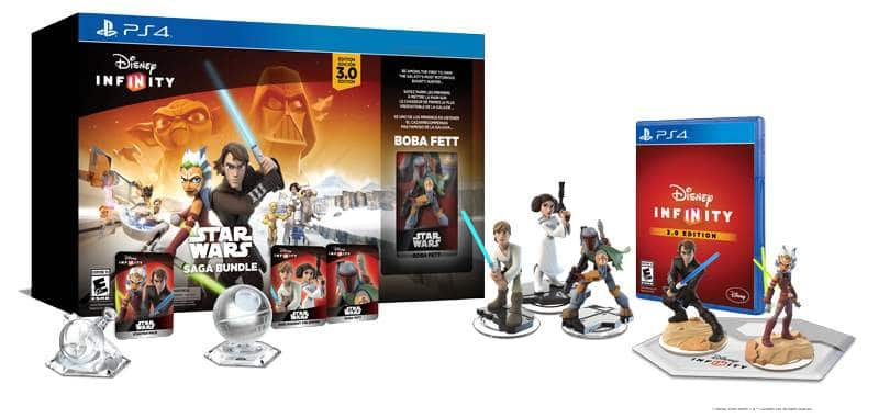 Disney Infinity 3.0 Edition Saga Bundle or Starter Pack (various consoles)  $15 + Free Store Pickup