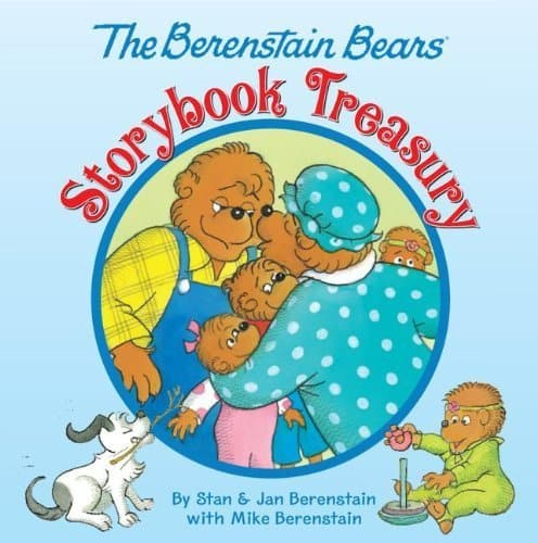 The Berenstain Bears: Storybook Treasury (192-Page Hardcover Book)  $5.70