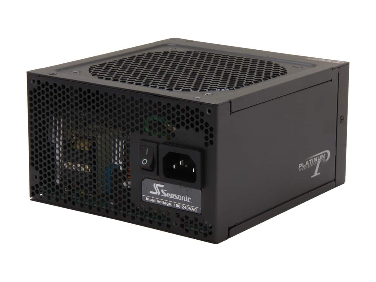 Seasonic 660W 80+ Platinum Power Supply  $80 after $15 Rebate + Free S/H
