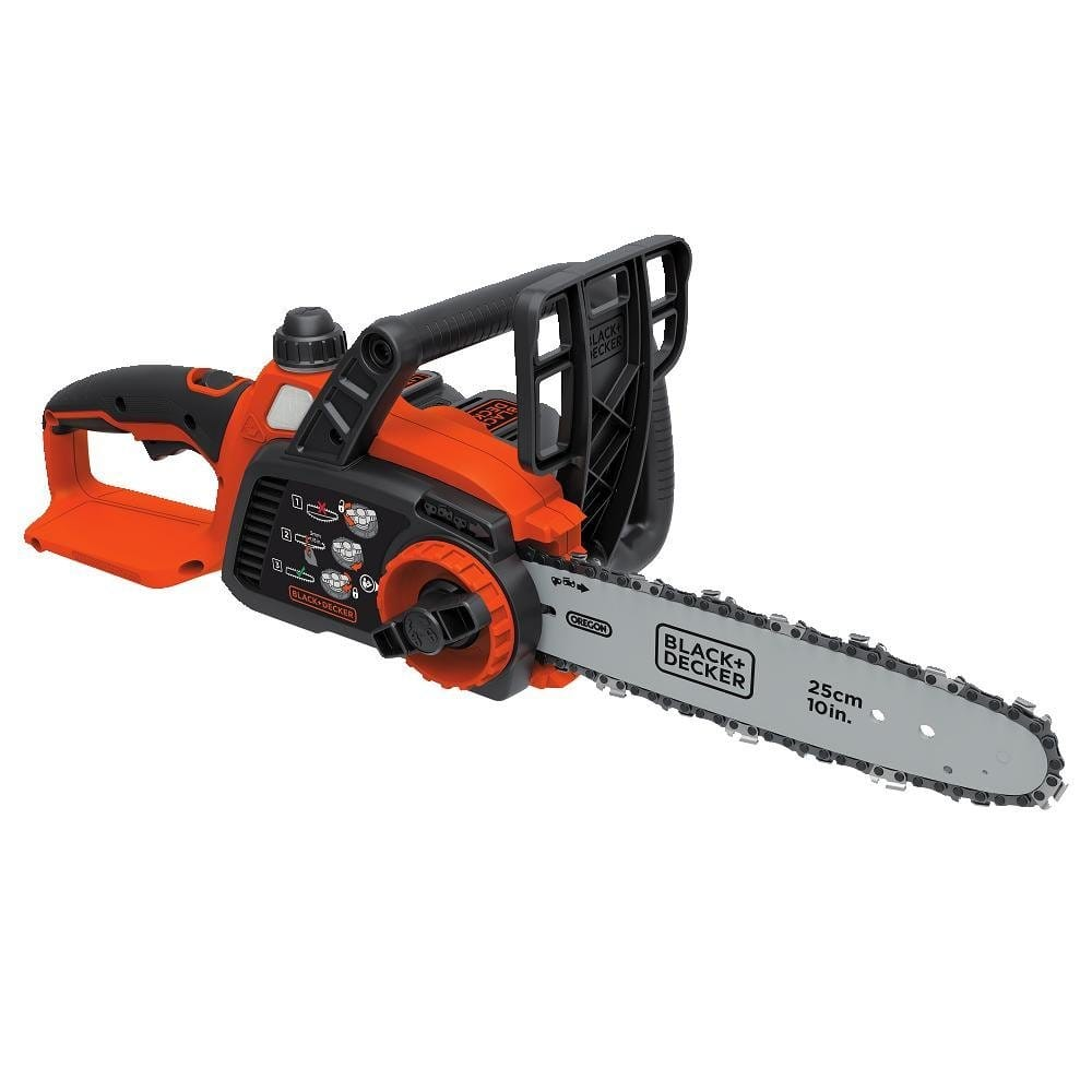 "Black+Decker 10"" 20V Max Lithium Ion Chainsaw (LCS102) $79.90 + Free Shipping"