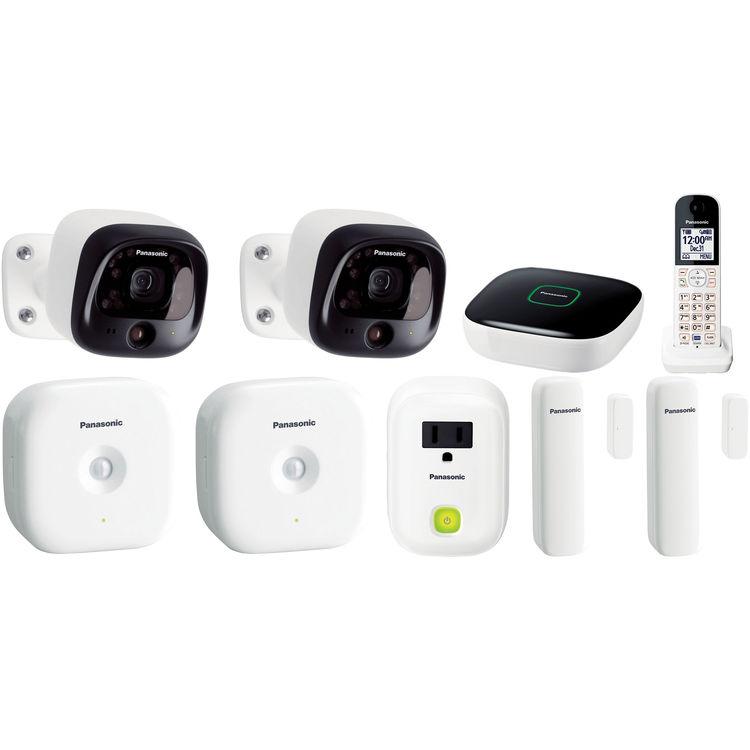 PANASONIC DIY Wireless Home Security Bundle $89.95 @ B&H Photo w/ Free Shipping