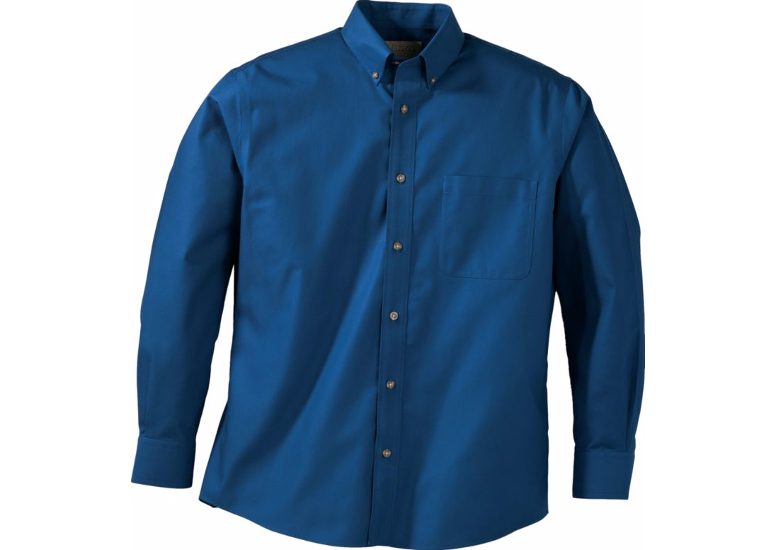Cabelas Men's Outfitter Care Free Cotton Long Sleeve Shirt- Reg/Tall - $13.75