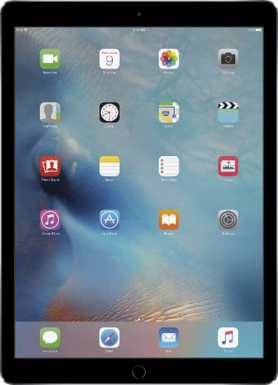 "Best buy Certified Refurbished iPad Pro 12.9"" with Wi-Fi - 128GB - Space Gray $519.99"