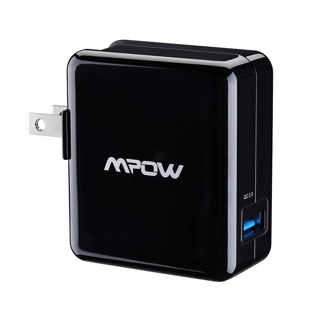 MPOW Quick Charge 2.0 XSmart 18W USB AC Wall Charger w/ Qualcomm  $5
