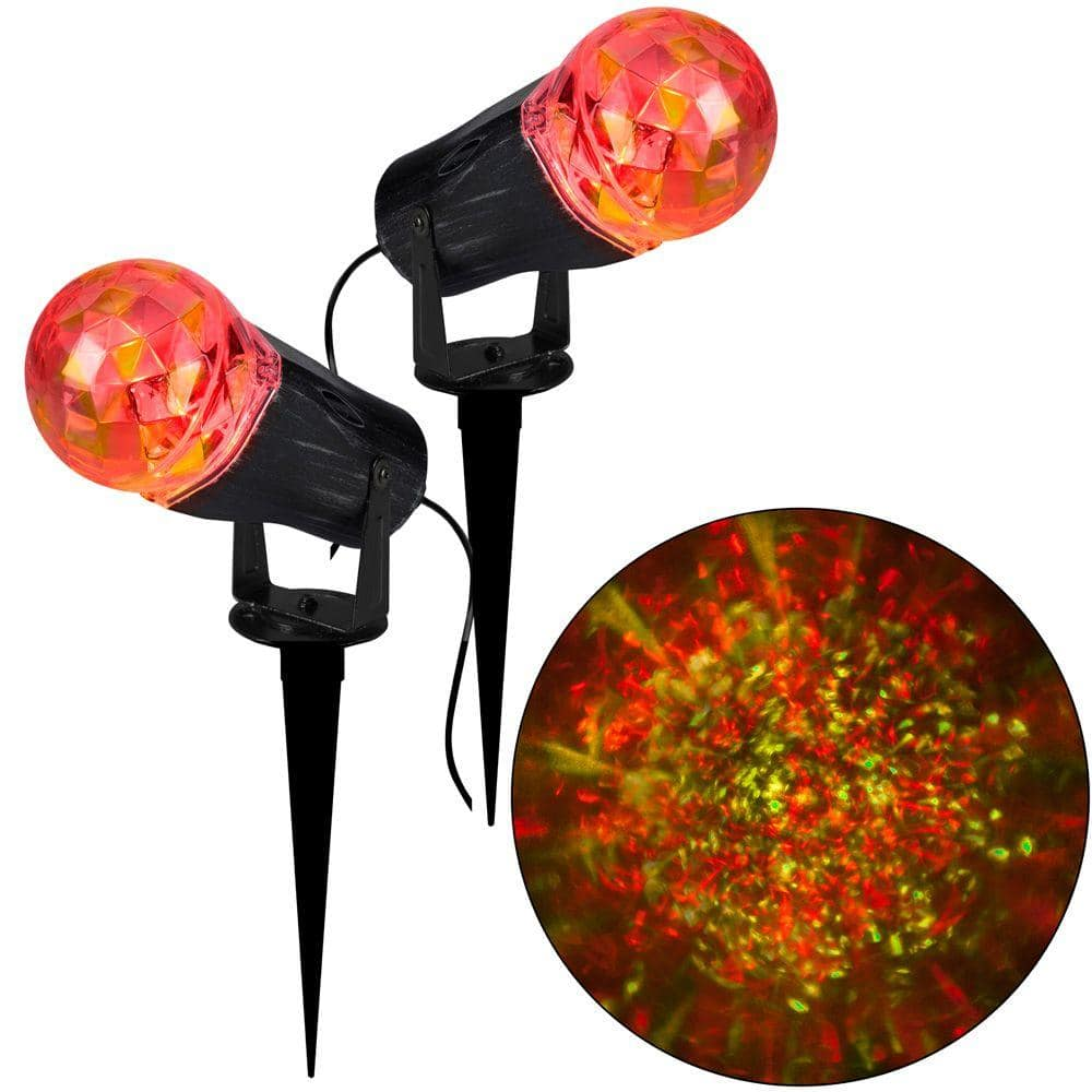 2-Pack Gemmy Projection Kaleidoscope LED Light Stakes $19.99 + free shipping (50% off)