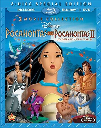 Pocahontas / Pocahontas II: Journey To A New World (Special Edition Blu-ray + DVD) $9.96 + Free Store Pickup