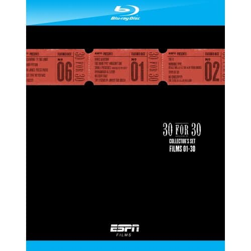 ESPN Films: 30 for 30 Collector's Set (Blu-Ray) $8.96 + Free In-Store Pickup