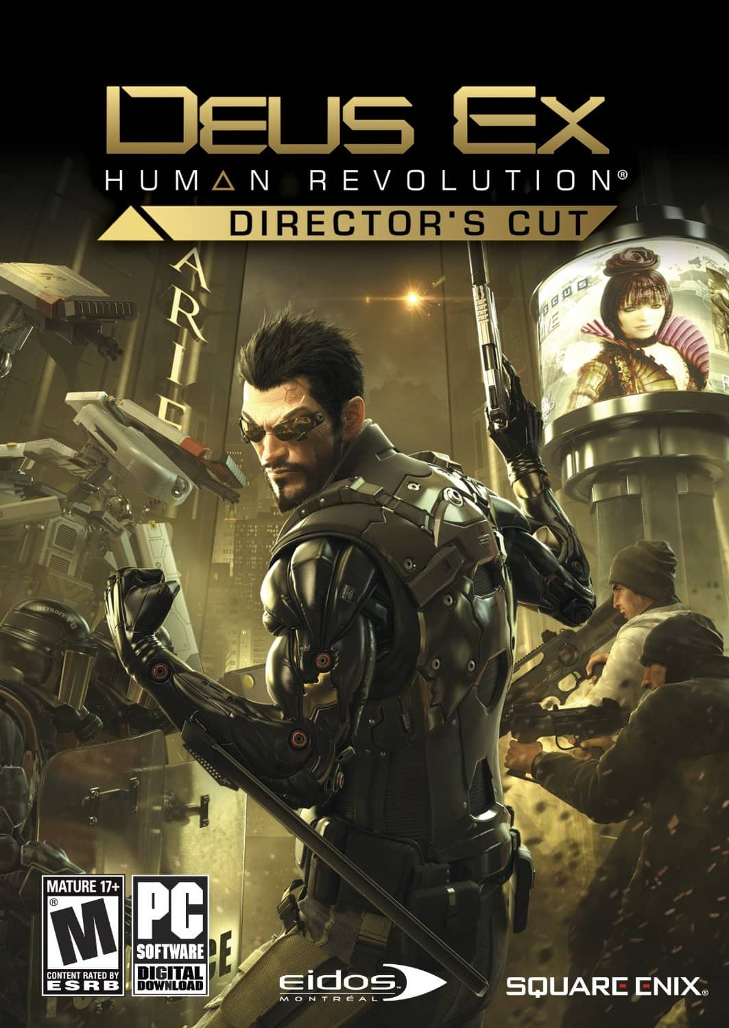 PCDD Games: Deus Ex: Human Revolution (Director's Cut) $5, Hitman: Contracts, Legacy of Kain: Soul Reaver, Just Cause $1.75 & More via Amazon