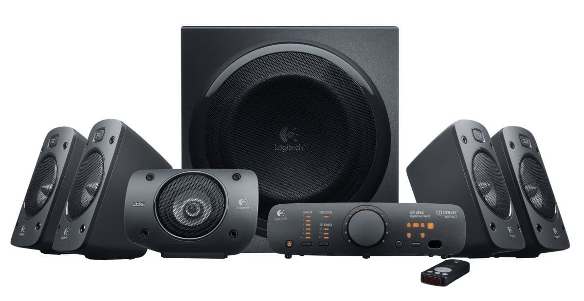 Logitech Z906 Surround Sound Speakers $206.15  FS w/Prime sold by Amazon  Temporarily out of stock