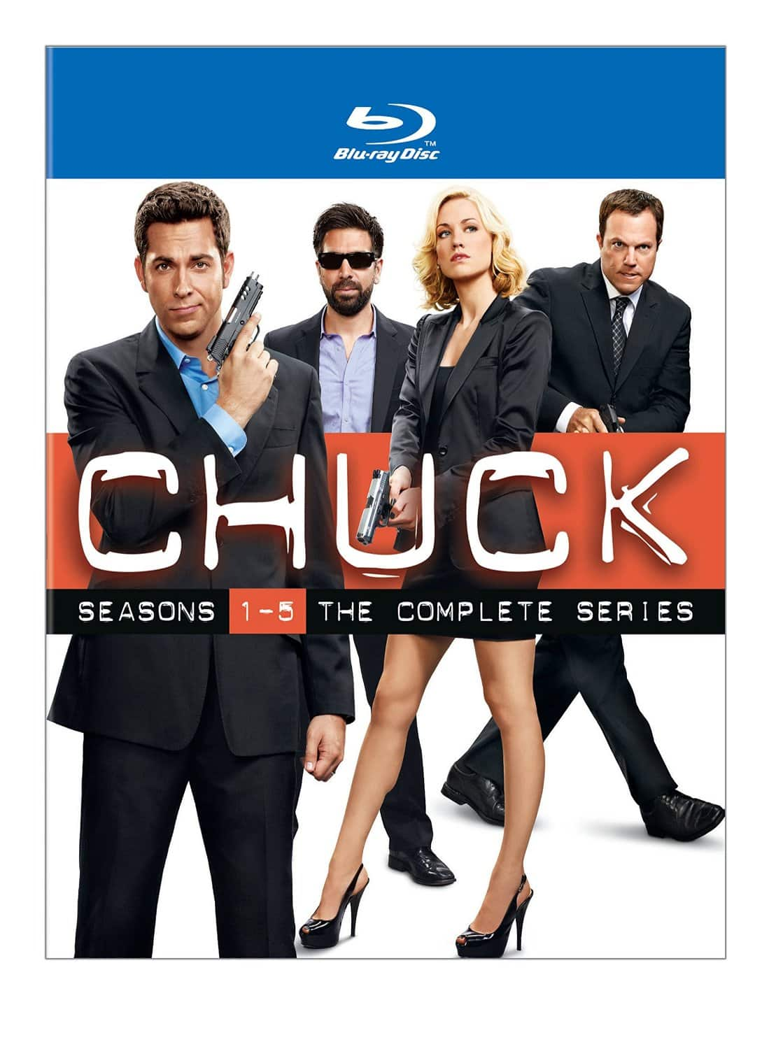 Chuck: The Complete Series (Blu-ray)  $40