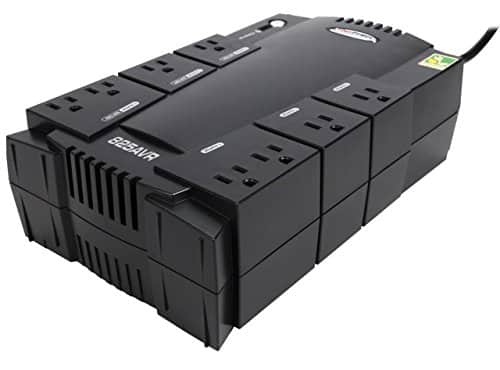 CyberPower AVR Series 825VA 450-Watt 8-Outlet UPS (CP825AVRG) for $54.99 + Free Shipping @ Newegg.com