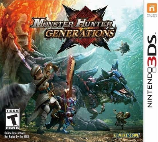 Monster Hunter Generations (Nintendo 3DS) $29.99 + Free Shipping