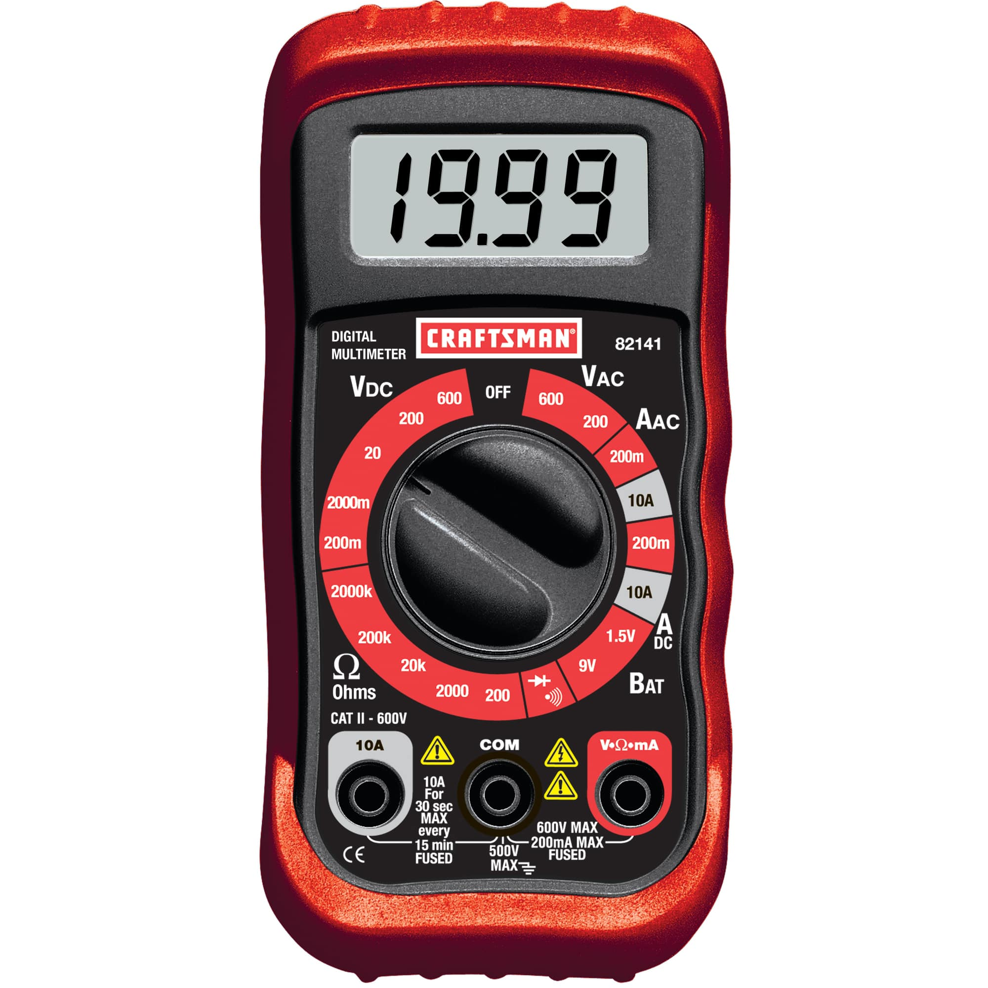 Craftsman Digital Multimeter with 8 Functions  $10 + Free Store Pickup